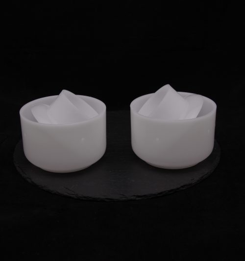 two cheese moulds 250-320g